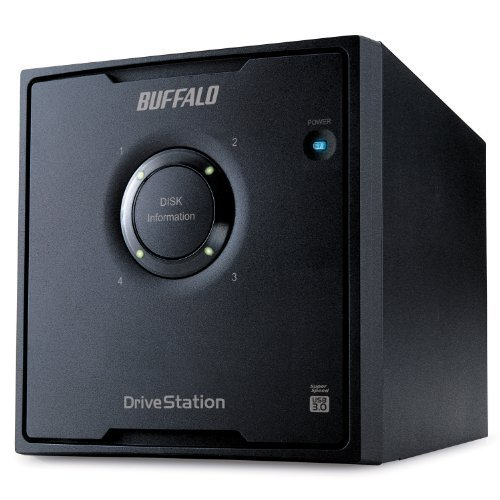 Buffalo Technology DriveStation Quad 8 TB (4 x 2 TB) USB 3.0 External RAID Hard Drive Array HD-QL8TU3R5 (Black)
