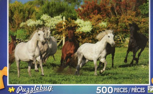 Runnig Free - Puzzlebug - 500 Pc Jigsaw Puzzle - NEW - 1