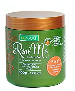 Real Me Blast of Shine Hair Mask, 17.6 Ounce