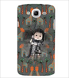 PrintDhaba Cartoon D-3677 Back Case Cover for SAMSUNG GALAXY MEGA 5.8 (Multi-Coloured)