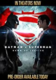 Batman v Superman: Dawn of Justice (Ultimate Edition Blu-ray + Theatrical Blu-ray + DVD + Digital HD UltraViolet Combo Pack)