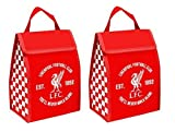Liverpool FC Football Club Insulated Lunch Totes Bags ( Set of 2)