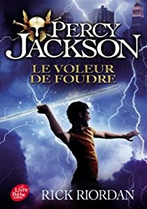 Percy Jackson, Tome 1 : Le Voleur de foudre par Riordan
