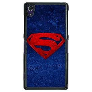 Jugaaduu Superheroes Superman Back Cover Case For Sony Xperia Z1