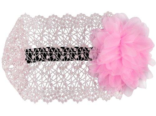 niceEshop(TM) Flower Toddlers Infant Baby Girl Princess Headband Headwear-Pink