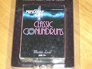 MINDTRAP Classic Conundrums MASTER LEVEL (Age 12+) Brainteasers, Riddles, Puzzles & Mysteries - In the twisted world of MindTrap, it's not what you know that counts - it's how you think!