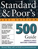 img - for Standard & Poor's 500 Guide : 2003 Edition book / textbook / text book