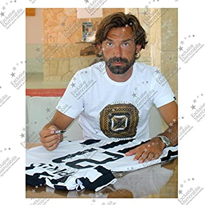 Andrea Pirlo Signed Juventus 2014-15 Soccer Jersey