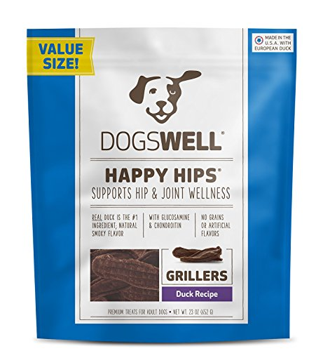 Dogswell Happy Hips Grillers Duck, 23 oz, 1 Pack (Dogswell Duck Grillers compare prices)