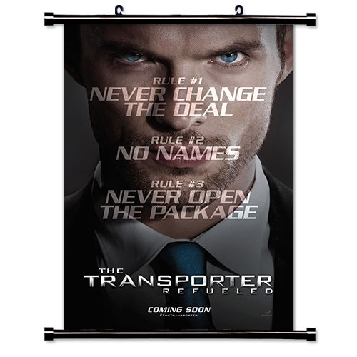 Transporter Refueled Movie Fabric Wall Scroll Poster (32x47) Inches