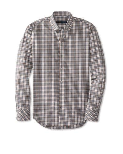 Zachary Prell Men's Gaiser Checked Long Sleeve Shirt