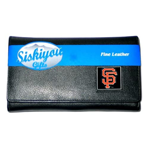 MLB San Francisco Giants Womens Leather Wallet