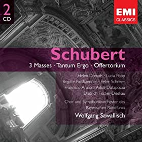 Schubert: 3 Masses - Tantum Ergo - Offertorium