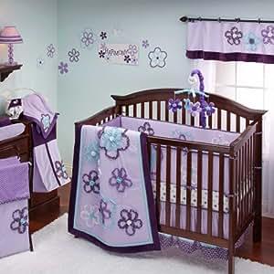 Amazon NoJo Harmony 8 Piece Crib Bedding Set