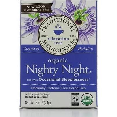 Traditional Medicinals Traditional Tea Blend Nighty Night 16 Tea Bags (A)