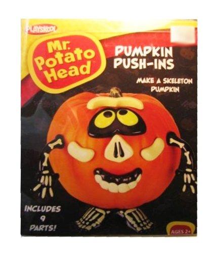 "Mr. Potato Head Pumpkin Push-Ins ""Skeleton"" By Playskool front-898769"