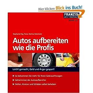 eBook Cover für  Autos aufbereiten wie die Profis Leicht gemacht Geld und rger gespart