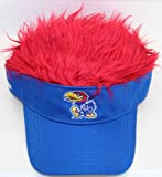 NCAA Kansas Jayhawks Flair Hair Cap Visor at Amazon.com