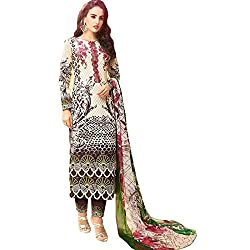 Supreets Boutique Women's Cotton Dress Material (sup10_Multi)