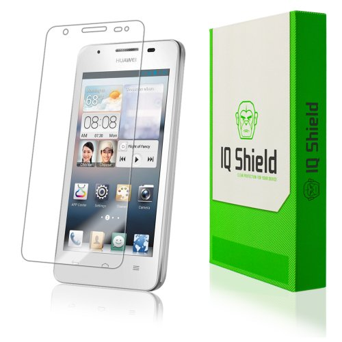 Iq Shield Liquidskin - Huawei Ascend G510 Screen Protector With Lifetime Replacement Warranty - High Definition (Hd) Ultra Clear Phone Smart Film - Premium Protective Screen Guard - Extremely Smooth / Self-Healing / Bubble-Free Shield - Kit Comes In Frust