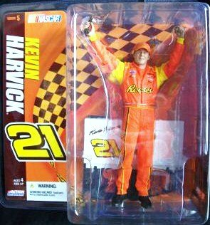 McFarlane NASCAR Kevin Harvick # 21 Reese's Action Figure Series 5 - 1