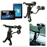 Dual Suction Cup Windscreen Mount fits the ViewSonic ViewPad 10 Tablet PC