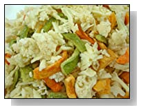 Low Carb Cauliflower, Pepper & Monterey Jack Snack Bag - LC Foods - All Natural - Paleo - Gluten Free - No Sugar - Diabetic Friendly - 2.2 oz