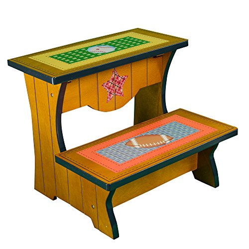 Fantasy Fields - Lil' Sports Fan Step Stool - 1