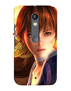 FurnishFantasy Designer Back Case Cover for Motorola Moto X Play