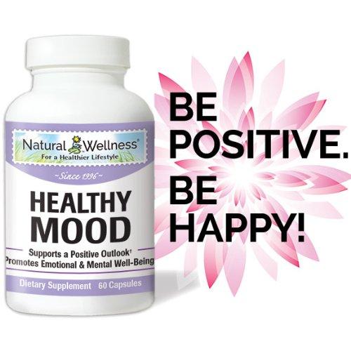 Natural Wellness - Healthy Mood - 60 Capsules
