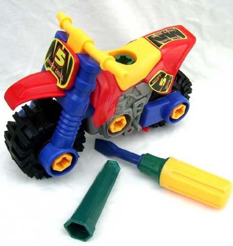 Baby child disassembly intellectual motorcycle toy