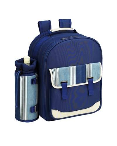 Picnic at Ascot Aegean Picnic Backpack Cooler for 4