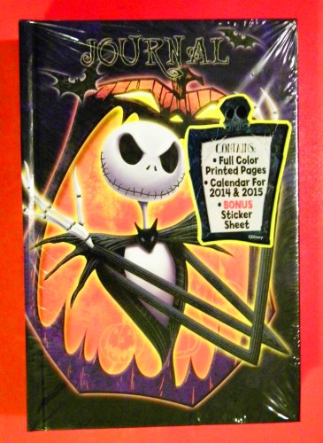 Tim Burton's Nightmare Before Christmas Journal Diary- Hardback