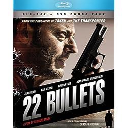 22 Bullets BD+DVD Combo [Blu-ray]