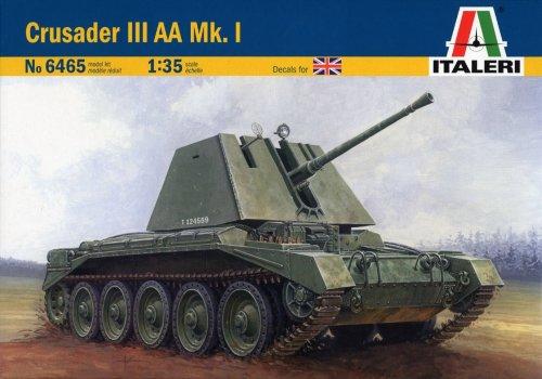 ITALERI 1:35 Military Vehicle 6465 Crusader III AA Mk.I