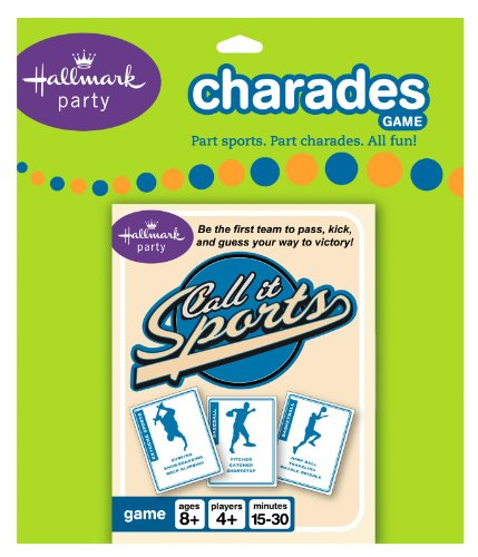 Hallmark - Call It Sports Charades Card Game