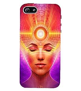 Fuson 3D Designer Mobile Back Case Cover For Apple iPHONE 5 / Apple iPHONE 5s