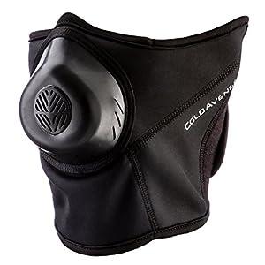 ColdAvenger Pro Soft Shell Mask, Black