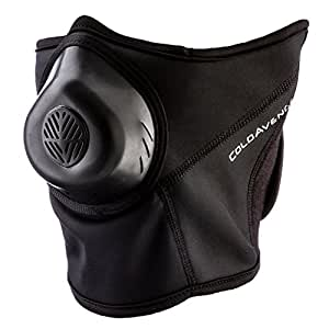 ColdAvenger Pro Soft Shell Mask, Black