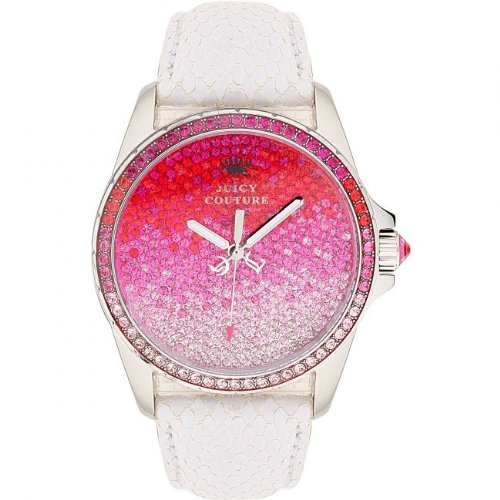 Juicy Couture Women's 1901014 Stella Pink Ombre Crystal Dial Watch