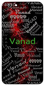 Vanad (Cloud) Name & Sign Printed All over customize & Personalized!! Protective back cover for your Smart Phone : Apple iPhone 6