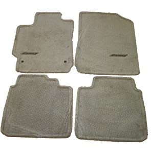 Amazoncom 2007 2009 toyota camry floor mat set 4 pc lt for 2009 toyota camry floor mats