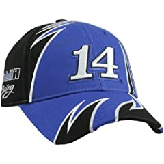 Buy NASCAR Chase Authentics Tony Stewart Fall 2012 Fragment Adjustable Hat - Blue Black by Football Fanatics