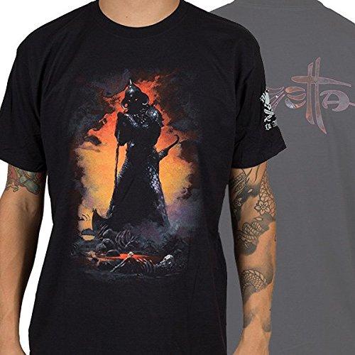 Frazetta-Death Dealer-Maglietta da uomo nero Large