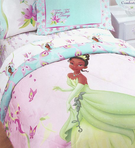 """Disney The Princess And The Frog """"Fairy Tale Dreams"""" Twin Comforter front-103842"""