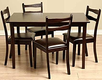 Callan Dining Room Furniture Set in Oak Finish