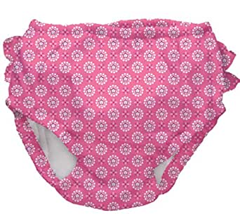 i play. Ultimate Swim Diaper,Infant / 12 Months,Hot Pink Geo