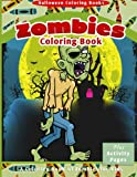 img - for Halloween Coloring Books: Zombies Coloring Book book / textbook / text book