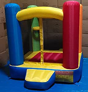 """My Bouncer Little Castle Bounce 72"""" L x 72"""" W x 72"""" H Ball Pit Popper w/ Phthalate Free Puncture Resist Nylon Material"""