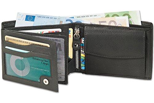 Ofertaza: Billetera de cuero de primera clase en formato apaisado